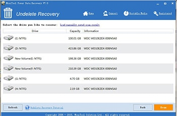 MiniTool Power Data Recovery- Best Free Data Recovery Software