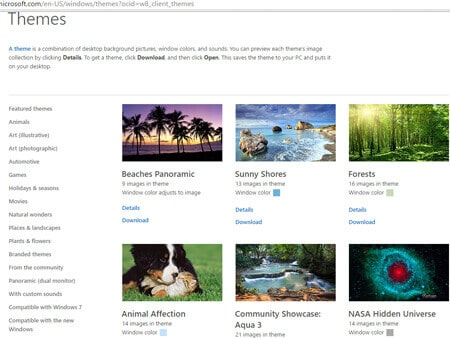 How to Personalize Windows 10- Themes online