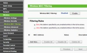 MAC Filtering-Make Your WiFi Secure