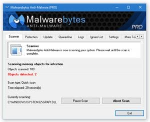 Malwarebytes-Best Free Spyware Malware Removal Software