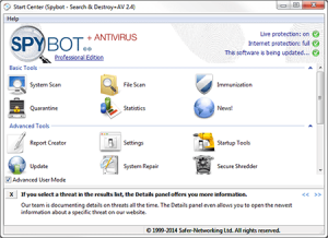 Spybot-Best Free Spyware Malware Removal Software