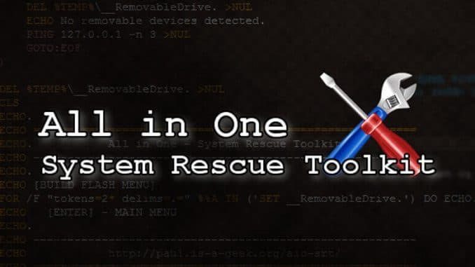 System Rescue Toolkit