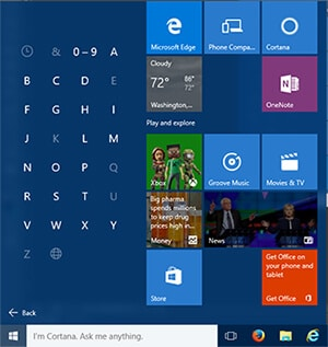 quick-navigation-of-apps-in-the-start-menu-windows-10-useful-features-settings