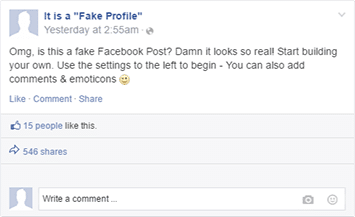 create-fake-facebook-status