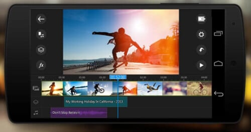 2-PowerDirector Video Editor App- Best Android Video Editing Apps Hindi