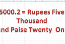 Excel Formula Convert Number Words Currency Hindi