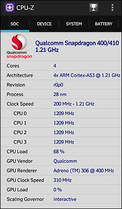 1-CPU-Z Know Everything About PC Hardware Smartphone