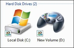 3-Drive Icon Changer-Change Windows Drive Icons In Hindi