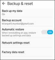 9 - Factory Reset - Things You Should Do Before Selling Your Android Phone