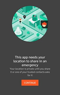 Trusted Contacts Location Sharing App Information Hindi