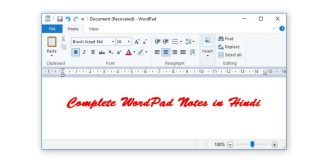 WordPad Hindi