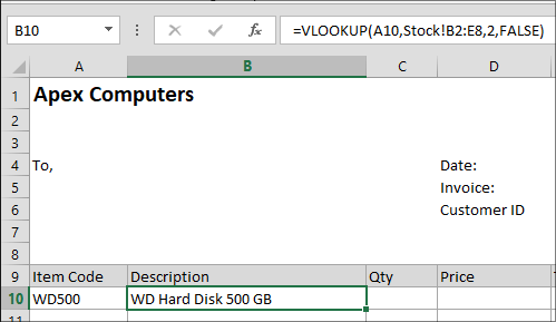 10-Example of Excel VLOOKUP Fuction in Hindi
