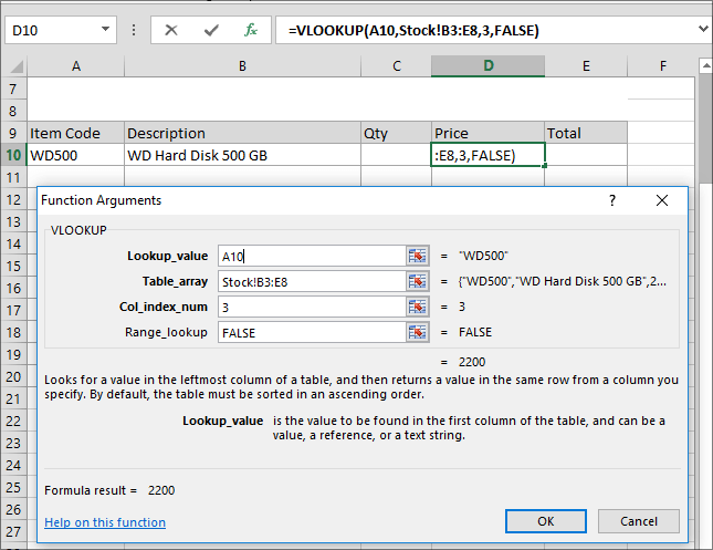 11-Example of Excel VLOOKUP Fuction in Hindi