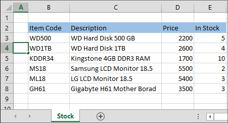 7-Example of Excel VLOOKUP Fuction in Hindi