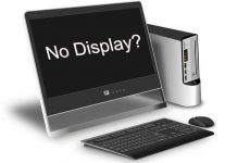 How To Fix Computer That Turns On But Displays Nothing Hindi