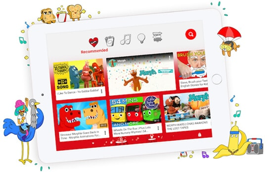 1-YouTube Kids- Video Websites for Kids Hindi