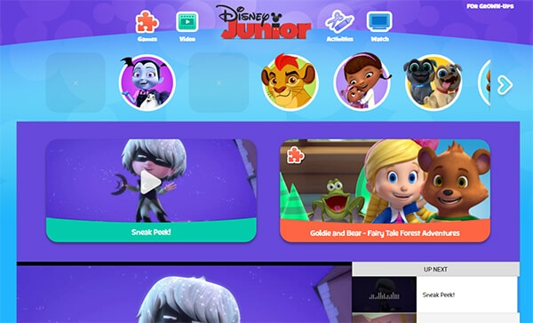 Disney Jr - Video Websites for Kids Hindi