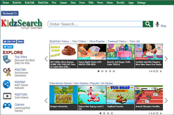 KidsTube- Video Websites for Kids Hindi