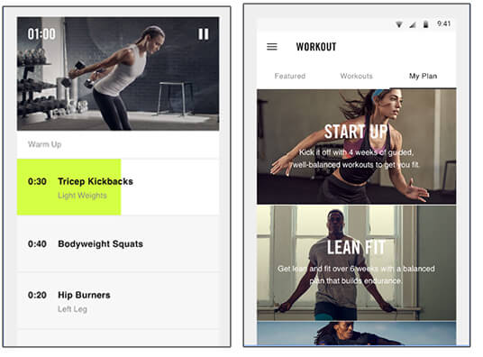 2-Nike Training Club - Best Android Health And Fitness Apps Hindi