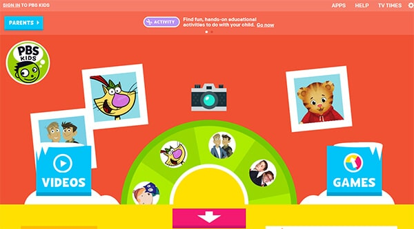 PBS Kids- Video Websites for Kids Hindi