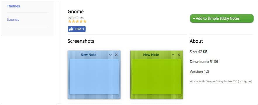 Theme -Simple sticky notes in Hindi