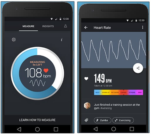 Instant Heart Rate - Best Android Health And Fitness Apps Hindi