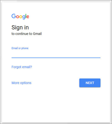 Sign in -Gmail in Hindi