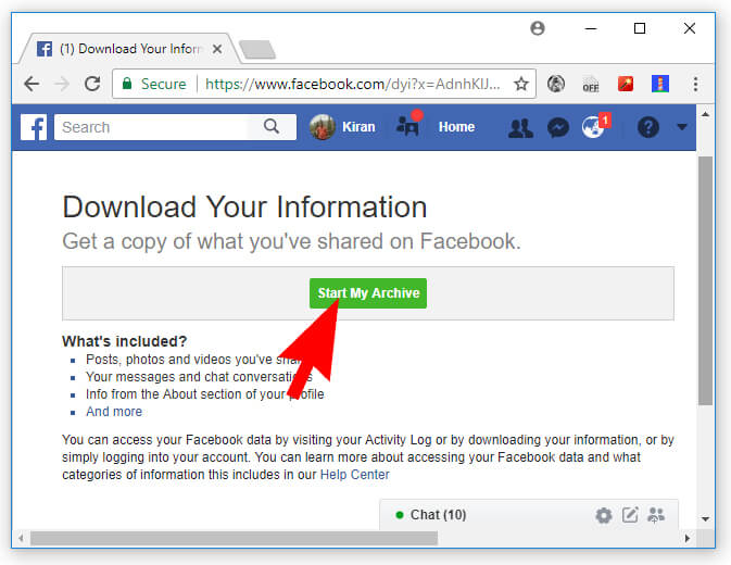 Find Out Everything Facebook Knows About You Hindi