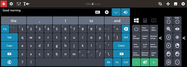 Click2Speak Typing For Physically Disabled Hindi
