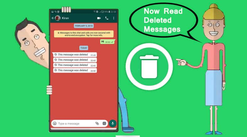 WhatsRemoved Retrieves Deleted Whatsapp Messages