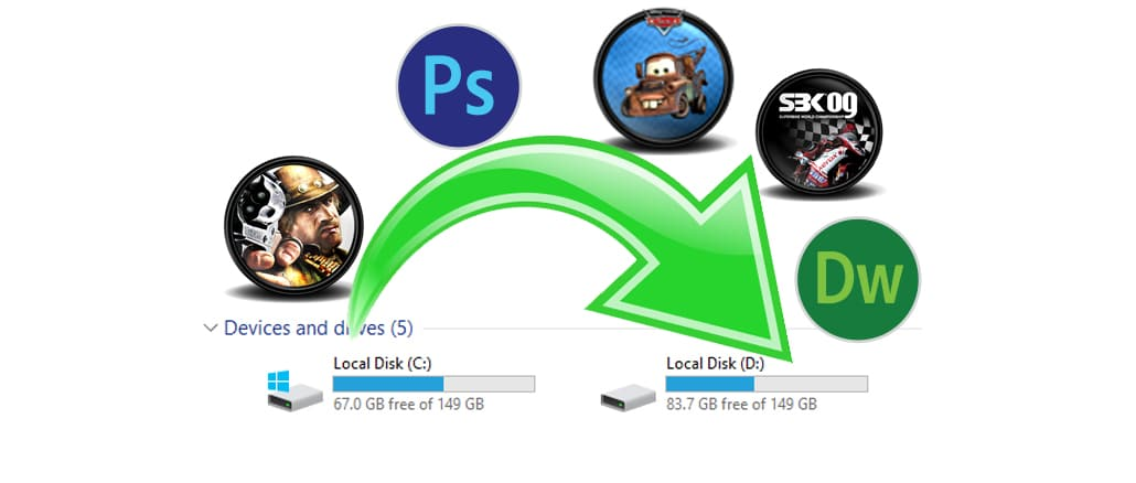 Steam Mover Move Program Games To Another Drive Hindi