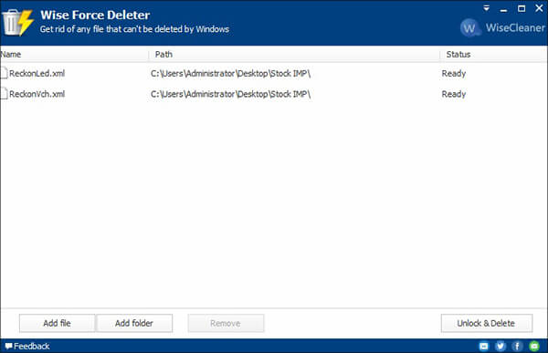 Wise Force Deleter Force Delete Files Program Hindi