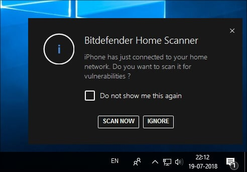Bitdefender Home Scanner Hindi