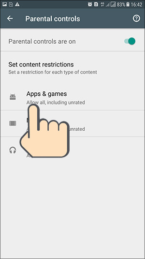Set Parental Controls Google Play Store Hindi