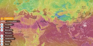 Ventusky Interactive Weather Map Hindi