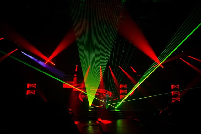 Laser Show by Project in hindi
