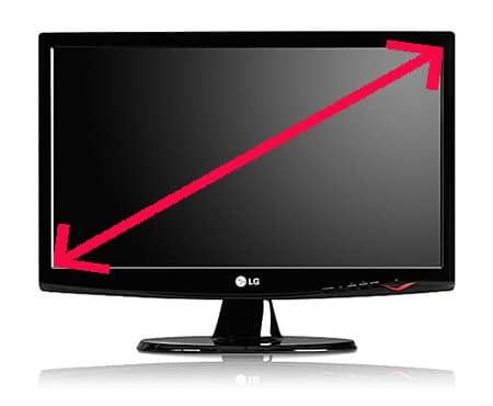 -LCD Monitor Size