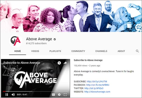 Above Average - Funny YouTube Channels Hindi