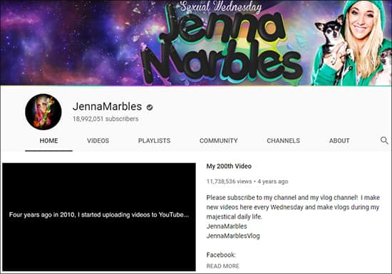 -Jenna Marbles - Funny YouTube Channels Hindi