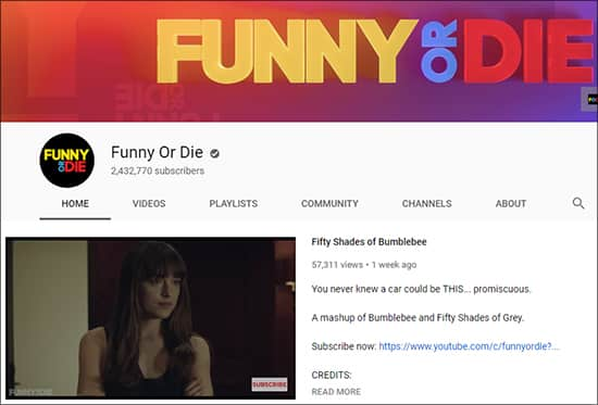 Funny Or Die - Funny YouTube Channels Hindi