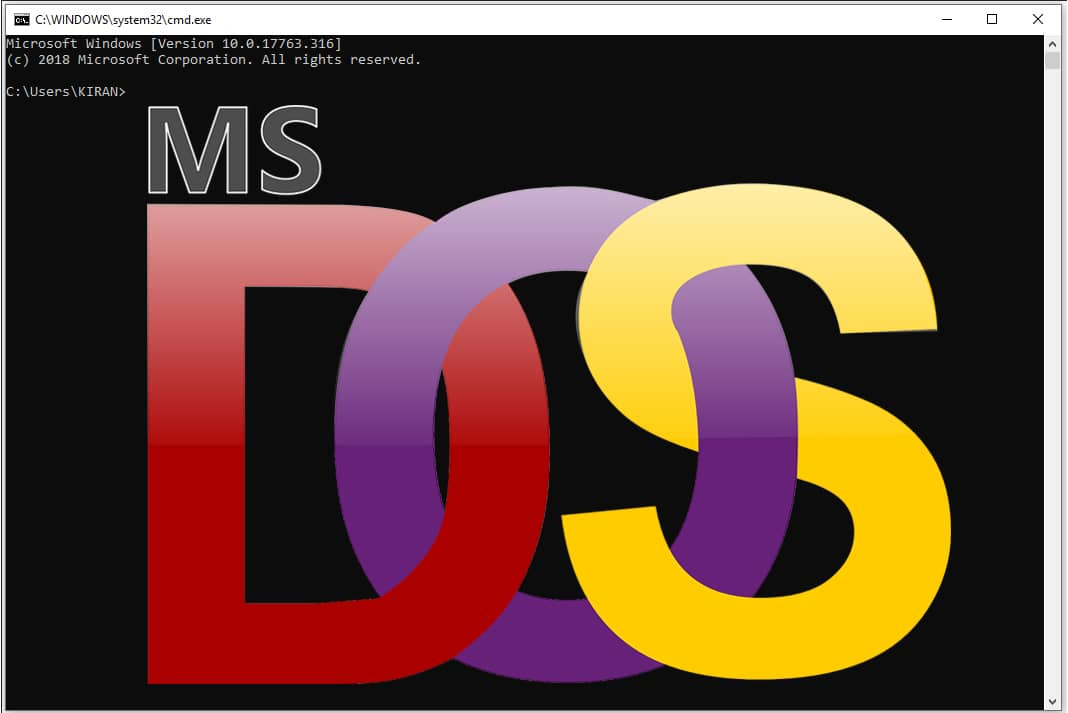 DOS Full Form- MS DOS in Hindi