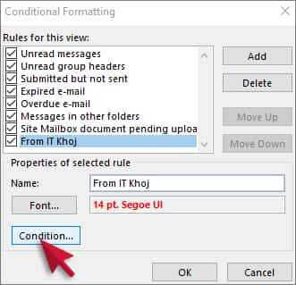 -Highlight Most Important Mails in Outlook
