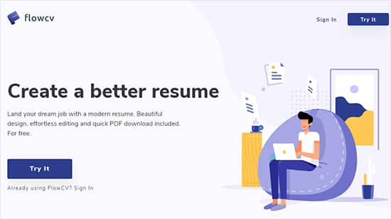 Best Free Resume Makers -FlowCV