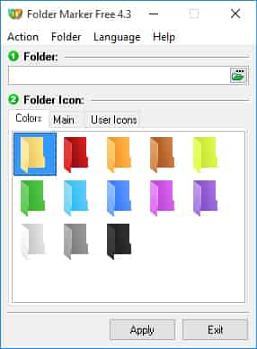 Folder Marker- Best Tools to Tweak and Customize Windows