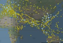 Flightradar24 How Many Planes in Sky