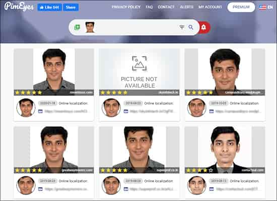 PimEyes - Best Free Face Search Engines