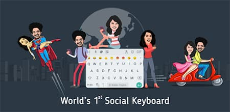 Bobble Keyboard - Emoji Maker Android Apps