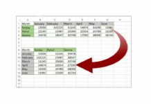 Convert a Row to a Column in Excel