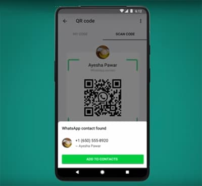 QR Code - WhatsApp New Features in Hindi 2020