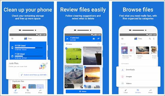 Files by Google - Android File Explorers in Hindi